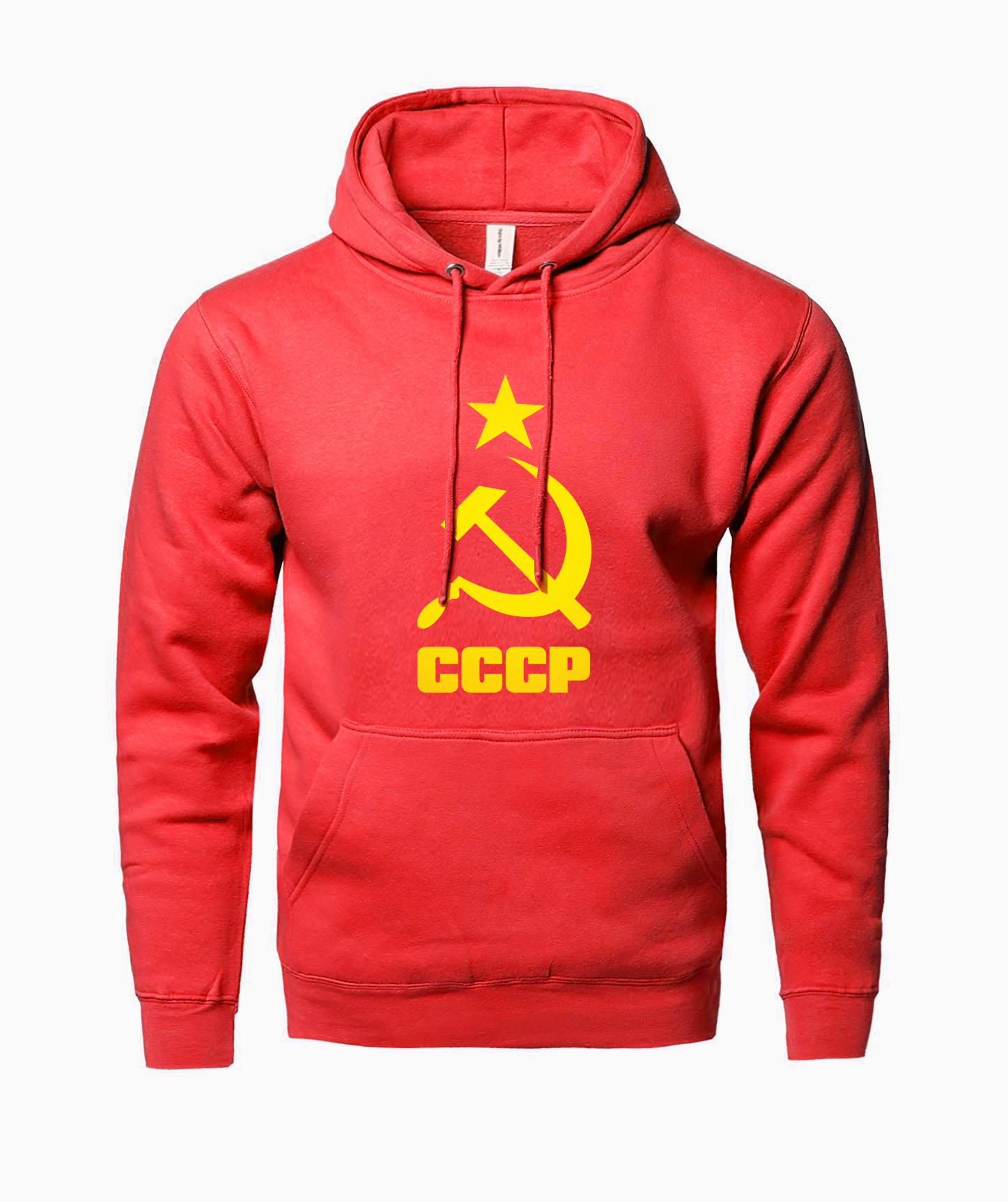 2019 Fashion Fleece Hoodie Men Sweatshirt Print Hot Hoody Men USSR Soviet Union KGB Streetwear Hip Hop Sportsman Wear
