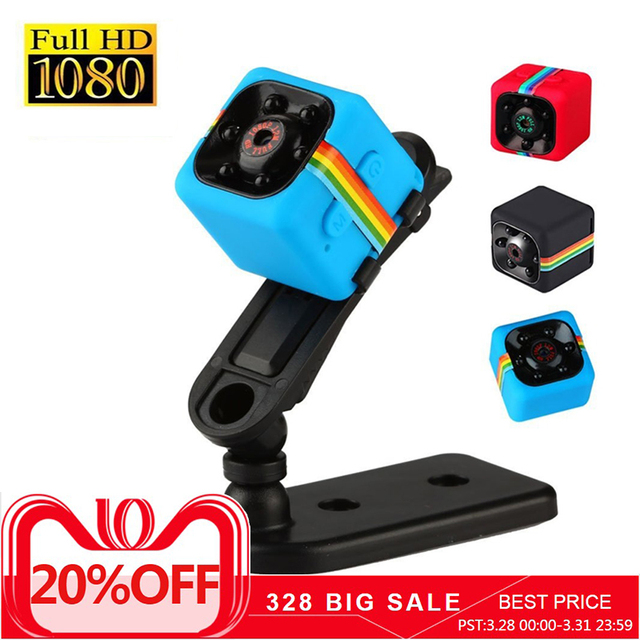 6d58e5645 SQ11 Mini Câmera 480 P 1080 P Full HD Night Vision Câmera Do Carro ...