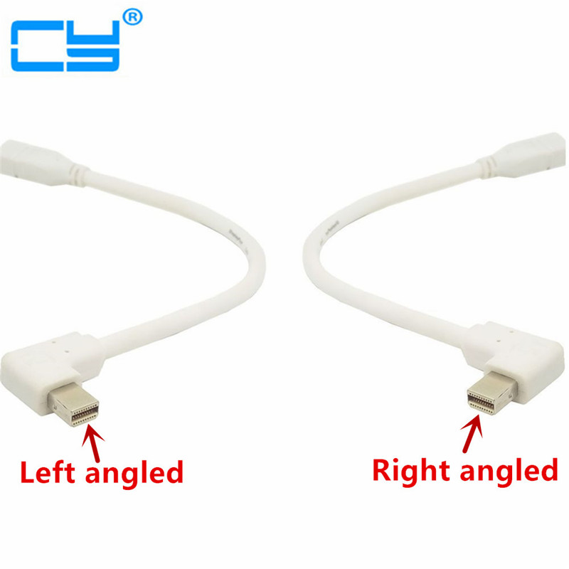 90 Degree Left & Right angled type Mini DisplayPort male to Mini DP Female extension cable for iMac & LED Cinema Display hand wrist orthosis separate finger flex spasm extension board splint apoplexy hemiplegia right left men women