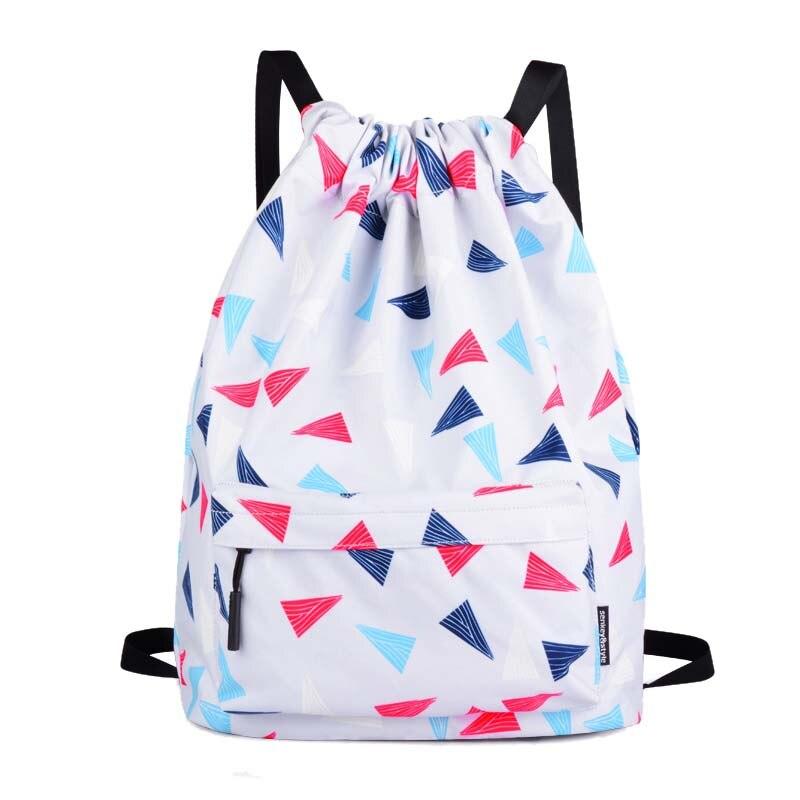 NIBESSER Floral Printed Drawstring Backpack Women Nylon Waterproof Bookbag Casual Daypacks Female Backpack Mochilas Back Pack