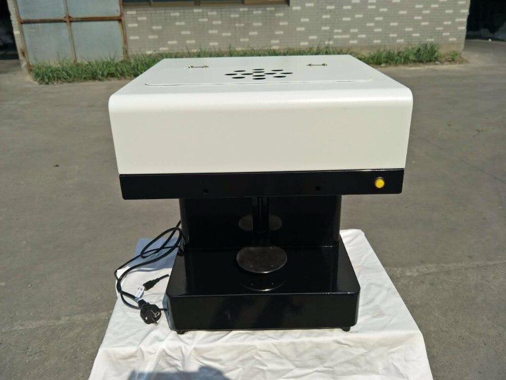colorful edible ink Automatic photo milk Selfie printing machine 3D coffee ,selfie coffee printer machine