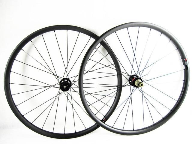 carbon mtb Unsymmetrical wheelset 27.5er mtb bikes 650B wheels 30mm width Mountain bicycle MTB Unsymmetrical whee UD matte 1423