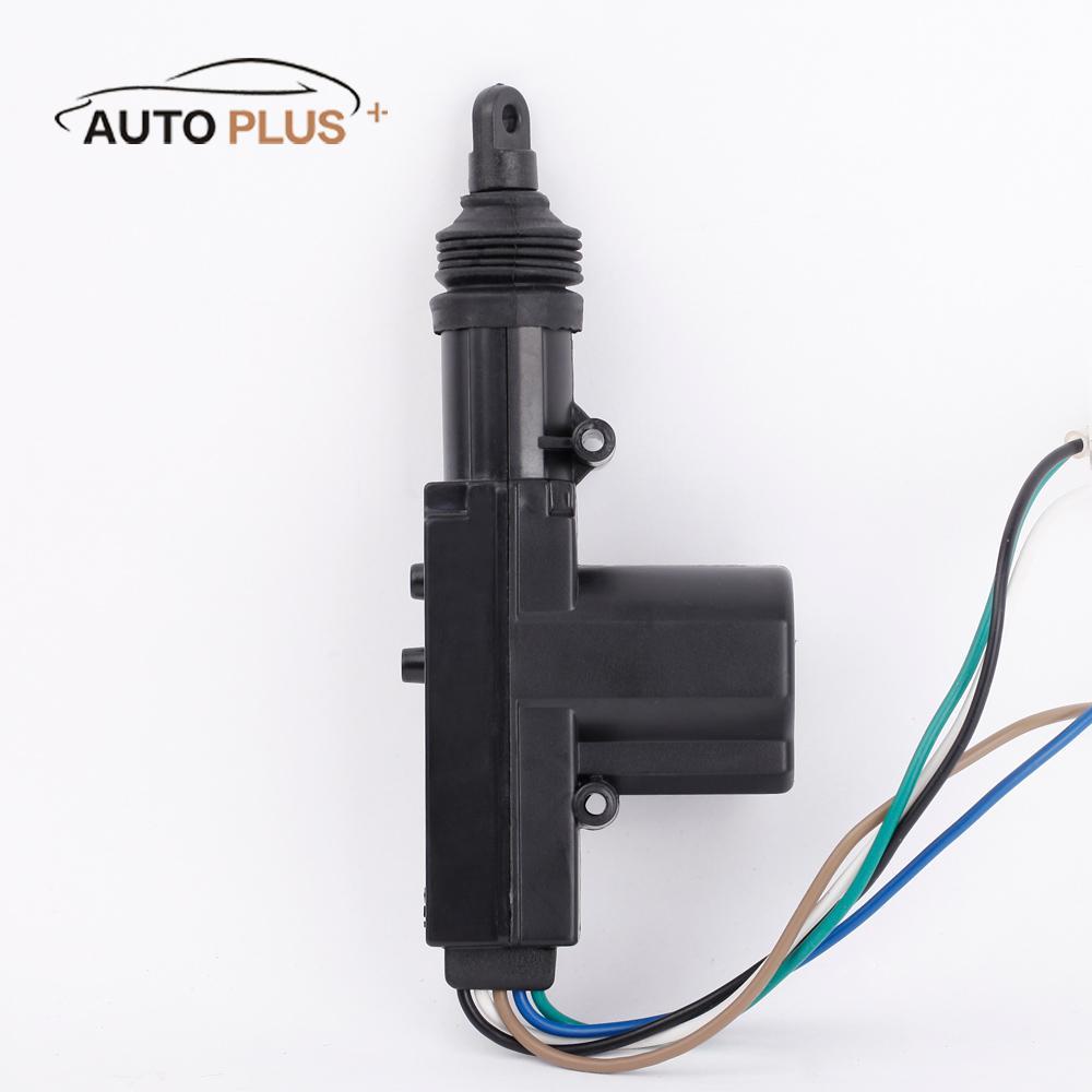Universal car central lock wire single gun actuator type