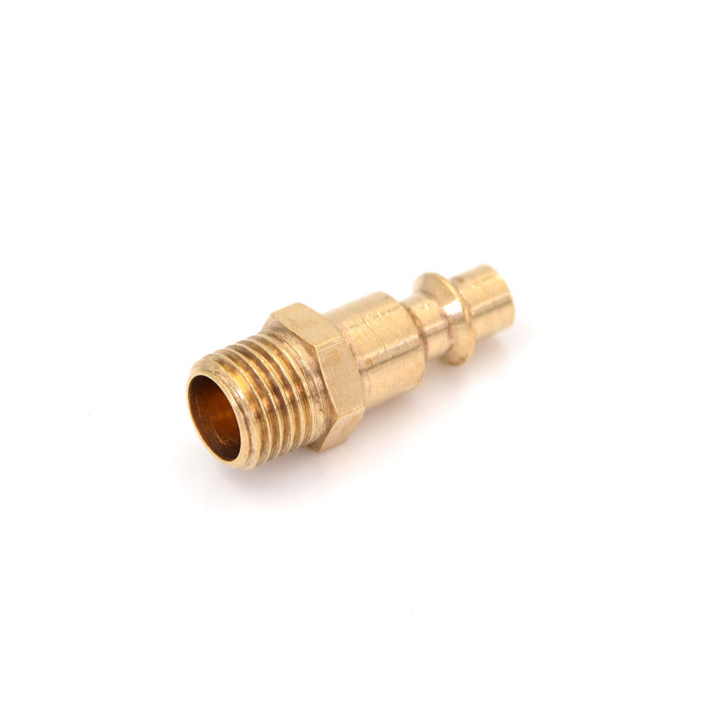 """Good Quality 1Pcs Quick Coupler Air Line Hose Male Connector Airline Fittings 1/4"""" NPT Tool thumbnail"""