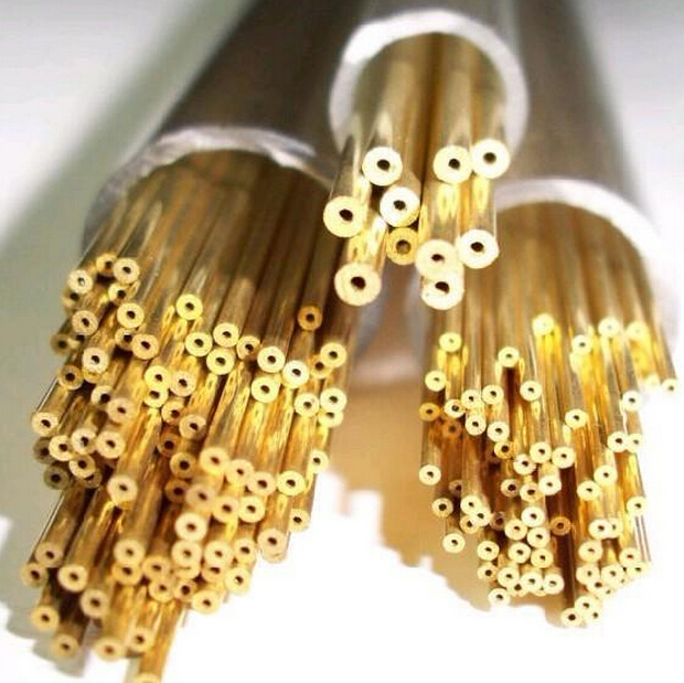 6x1mm copper capillary straight  tube brass pipe DIY material Hardware All Sizes in stock 10x1mm soft coil copper tube pipe air conditioner refrigeration systems
