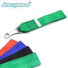 NEW RACING TOW STRAP TOW ROPE HIGH STRENGTH LIGHTWEIGHT WEBBING red black green blue Tow Hook Strap Nylon Tow Ropes