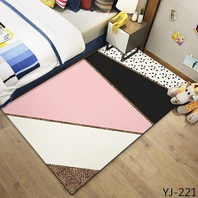 Fashion Cartoon Unicorn Carpet For Bedroom Animal Living Room Floor Mat Coffee Table Bed Front Rug Delicate Kids Climbing Rug in Carpet from Home Garden