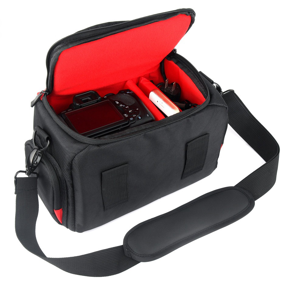 High Quality Dslr Camera Bag For Nikon D5300 D3400 D3300 D90 D850 D7100 D3000 D200 D5000 D7500 D40 Photo