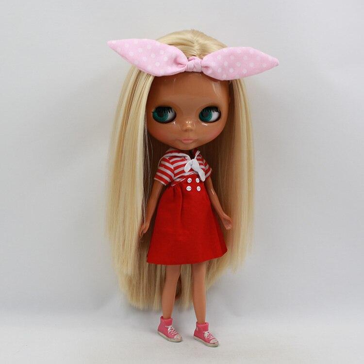ФОТО Free shipping boneca negra 30cm fashion doll bonecos colecionaveis baby dolls for girls  bjd dolls for sale