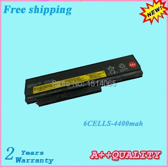 Абсолютно аккумулятор 4400 мАч для ноутбука LENOVO ThinkPad X230 X220 X220i X220s батареи