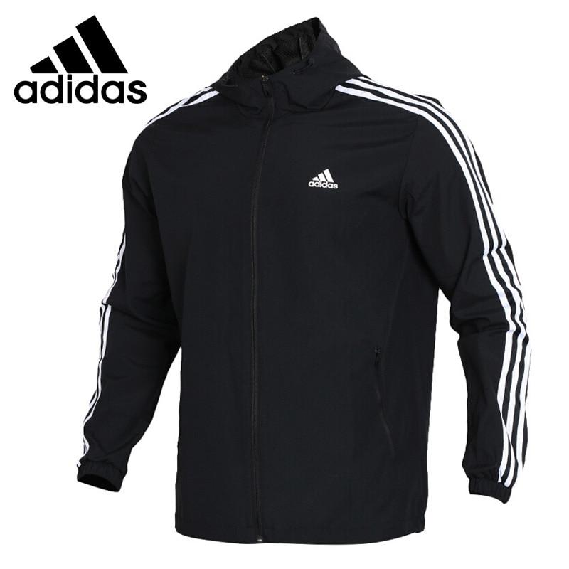 Original New Arrival 2018 Adidas Performance WB MESH BOND 3S Men's jacket Hooded Sportswear цена
