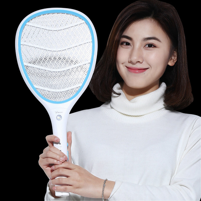 YAGE Electric Mosquito Swatter Anti Mosquito Fly Repellent Bug Insect Repeller Reject Killers Pest Control Racket Trap Home Tool