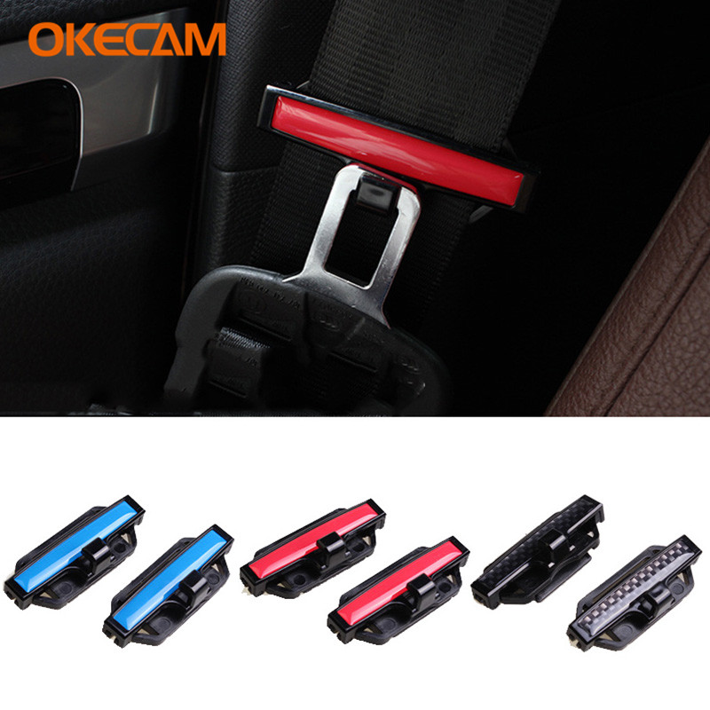 ABS Car Seat Belt Buckle Covers Clip for Mercedes Benz W203 W211 W204 W210 W124 W212 AMG W202 W205 Cla W220 <font><b>W163</b></font> W164 W201 C180 image
