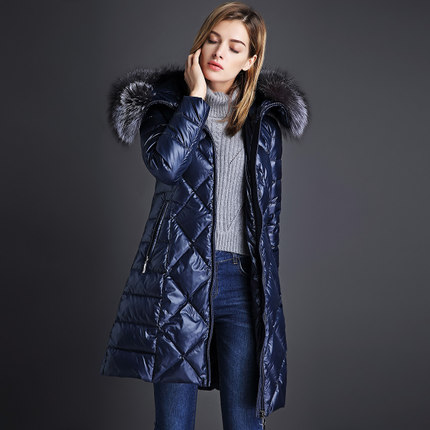 2016 new hot winter Thicken Warm woman Down jacket Coat Parkas Outerwear Hooded fox long plus size 2XXL luxurious Slim 2016 new hot winter thicken warm woman down jacket coat parkas outerwear hooded fox fur collar long plus size 2xxl luxurious