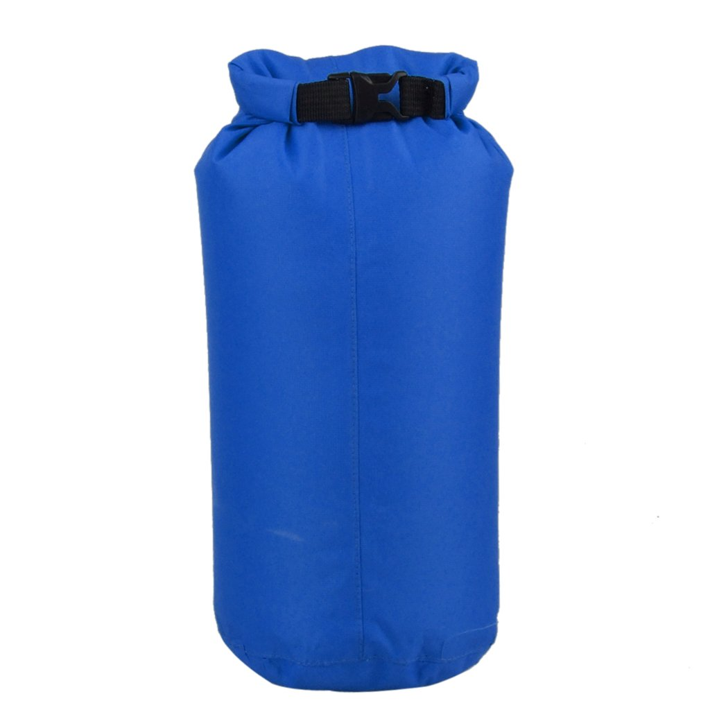 Hot Waterproof Dry Sack Lightweight Compression Bag for Boating Kayaking Fishing Rafting Canoeing 8L Blue