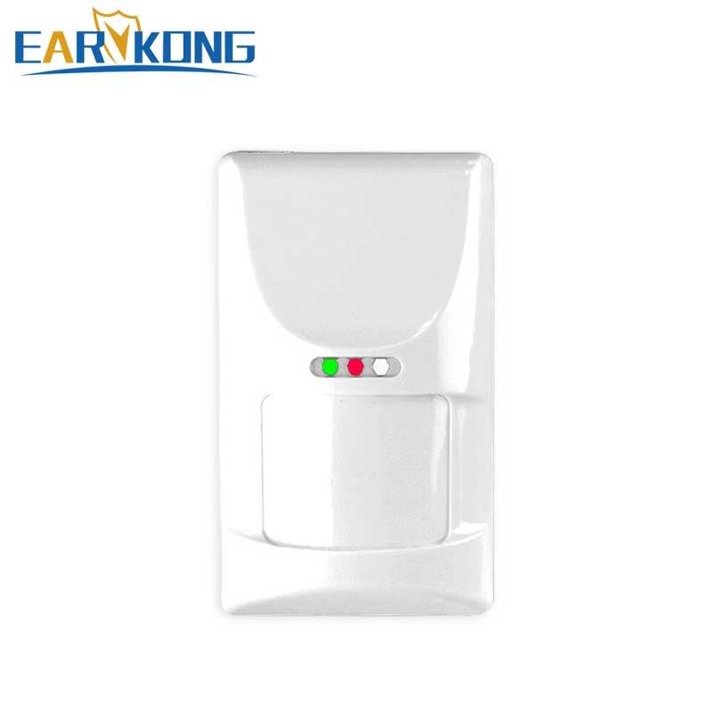 Heißer Verkauf 433 mhz Wireless HAUSTIER Immun Detektor Geeignet für unten 25 kg tier, passive Infrarot Sensor Für G90B/GSM/Wifi Alarm