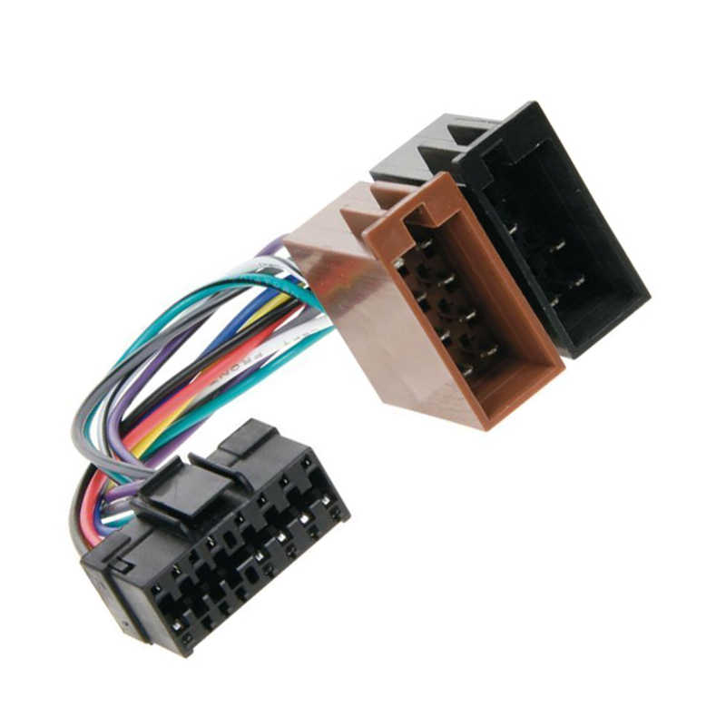 Detail Feedback Questions about ISO Car radio Adapter Wiring Harness