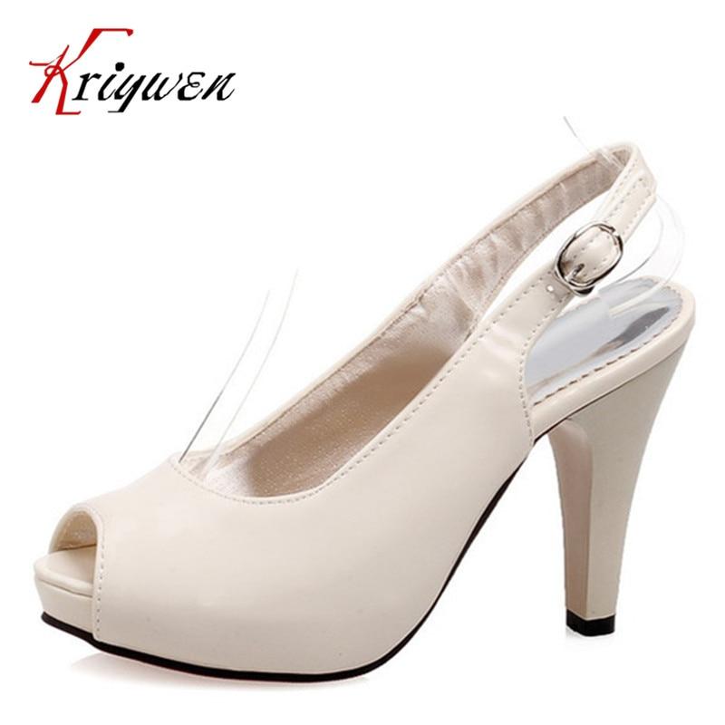plus size 32 43 brand high heels fashion shoes