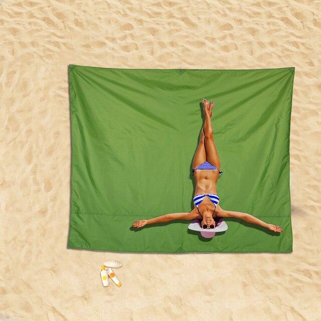 Tomshoo Waterproof Beach Mat Outdoor Blanket Portable Picnic Mat