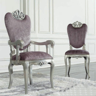New Deals Neoclassical Furniture Carved Wood Armchair Chair Leisure