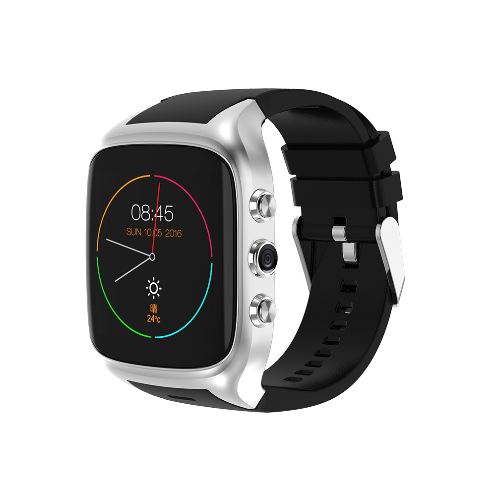 ABAY X02S PK X01 X01S Android Handy Bluetooth Smart Uhr 1,3 ghz Dual Core IP67 GPS Uhr Kamera ROM 8g Herz Rate 3g WiFi uhr