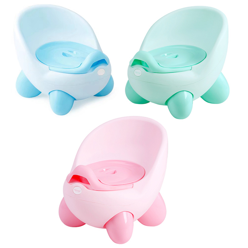 Baby Toilet Seat Cute Egg Travel Children's Pot Toilet Portable Training Boy Girls Child Potty For Free Potty Brush