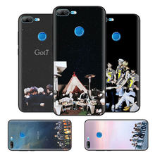 Black Bag Soft Silicone Case Cover for Huawei honor 8X 8C 8A 10 20 Y6 Y9 2019 Lite Play Enjoy 9S 9E 20i Capa Fall GOT7 Jackson(China)