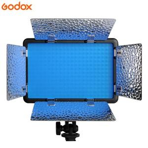 Image 3 - جديد Godox LED308W II 5600K الأبيض جهاز تحكم عن بعد بمصباح ليد المهنية فيديو إضاءة الاستوديو محول التيار المتردد الساخن بيع