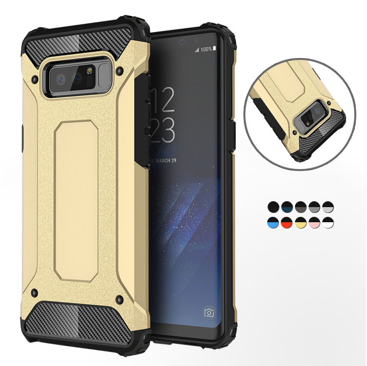For Samsung Galaxy S5 S6 EDGE S7 S8 S9 S10 Plus S10E E Note 4 5 8 9 Rugged Armor Hard PC Case For J4 J6 J8 A6 A8 Plus A7 A9 2018