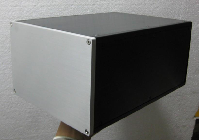 Breeze Audio-aluminum chassis NO.1multi-purpose( it Can be used as power box/amp/amplifier chassis) breeze audio power amplifier aluminum chassis amp case bz3207s box