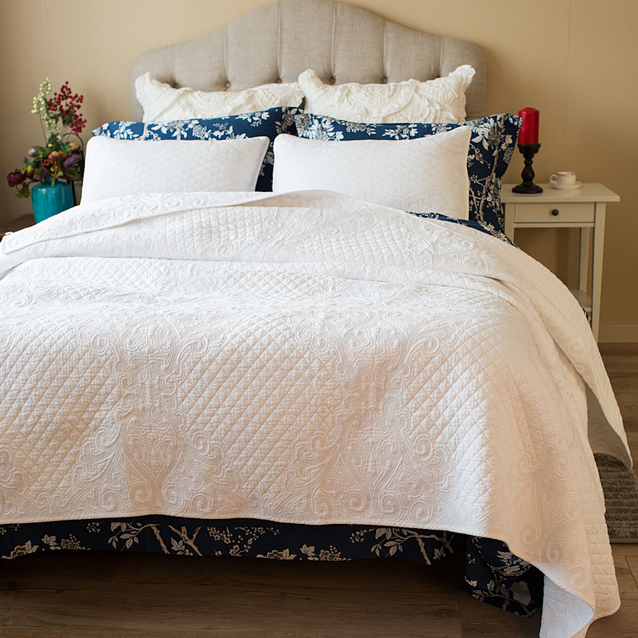 online get cheap cool quilt aliexpresscom  alibaba group - classic vintage quilt bed cover three piece bedding cotton was cool in thesummer air conditioning