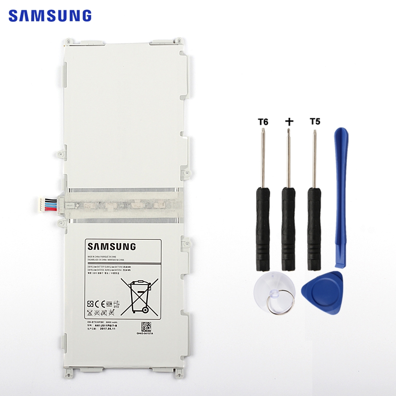 SAMSUNG Original Tablet Battery EB-BT530FBU EB-BT530FBC For Samsung GALAXY Tab4 Tab 4 SM-T530 T531 T535 T537 T533 T535 6800mAh