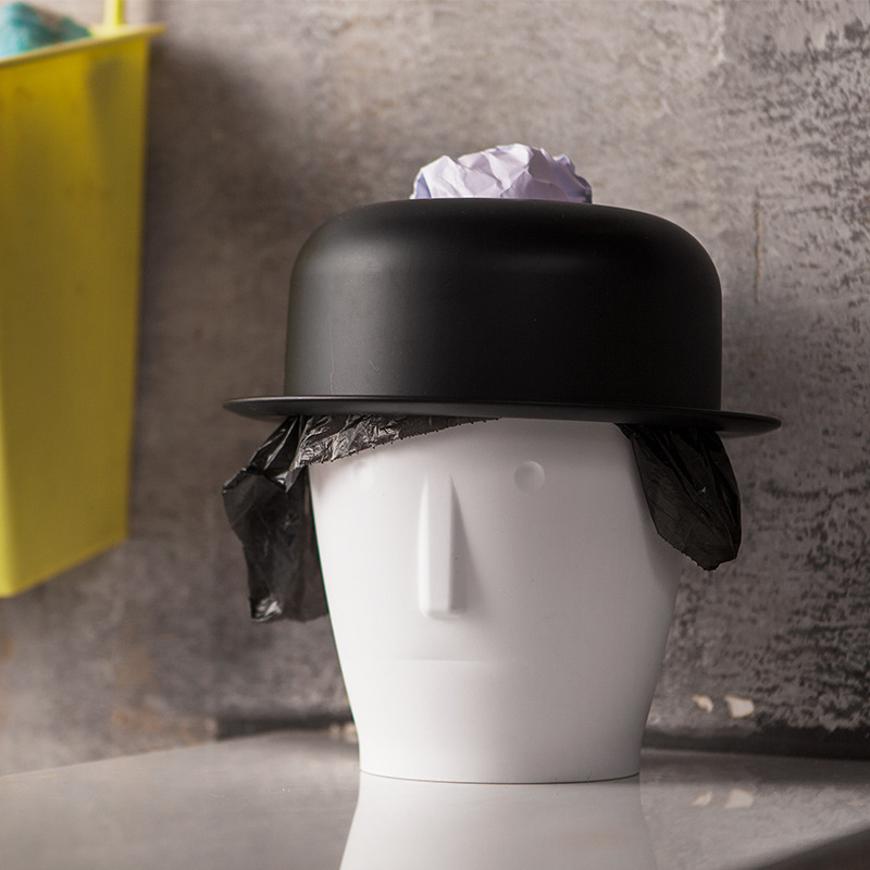 Michael Jackion Mini Table Trash Can With Hood Tissue Box ...