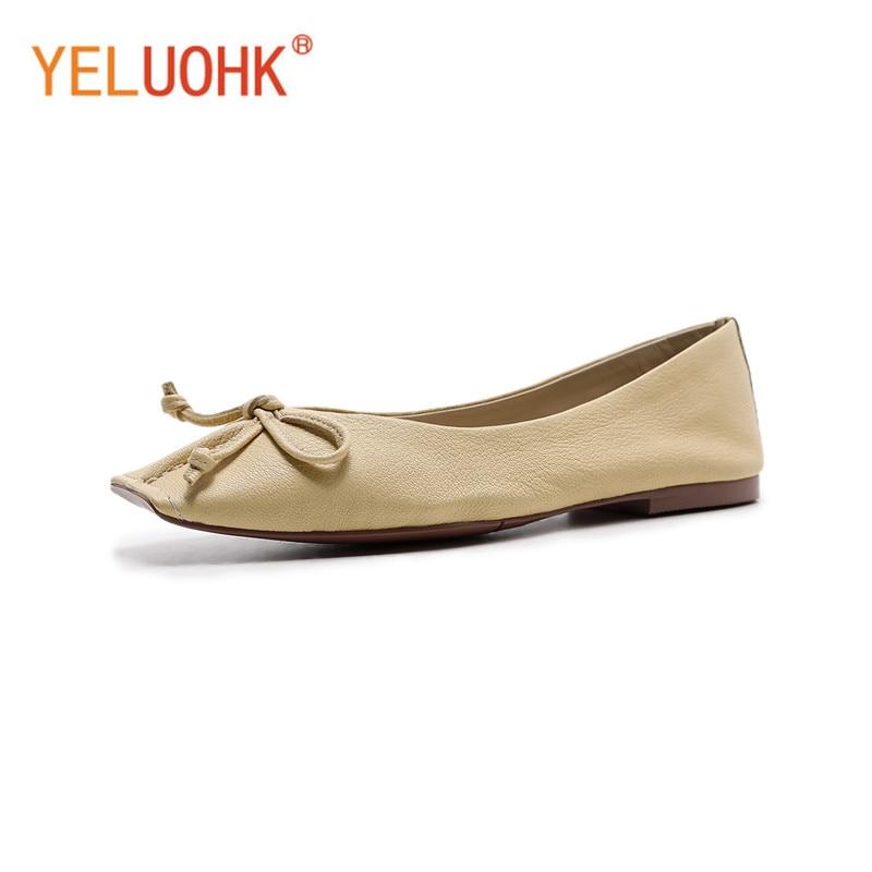 Дамские туфли на плоской подошве Пояса из натуральной кожи женские лоферы Одежда высшего качества женские мокасины мягкие слипоны