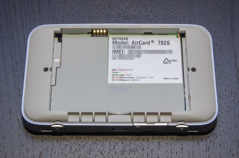 გახსნილია AirCard 782S lte 4g უკაბელო - ქსელის აპარატურა - ფოტო 5