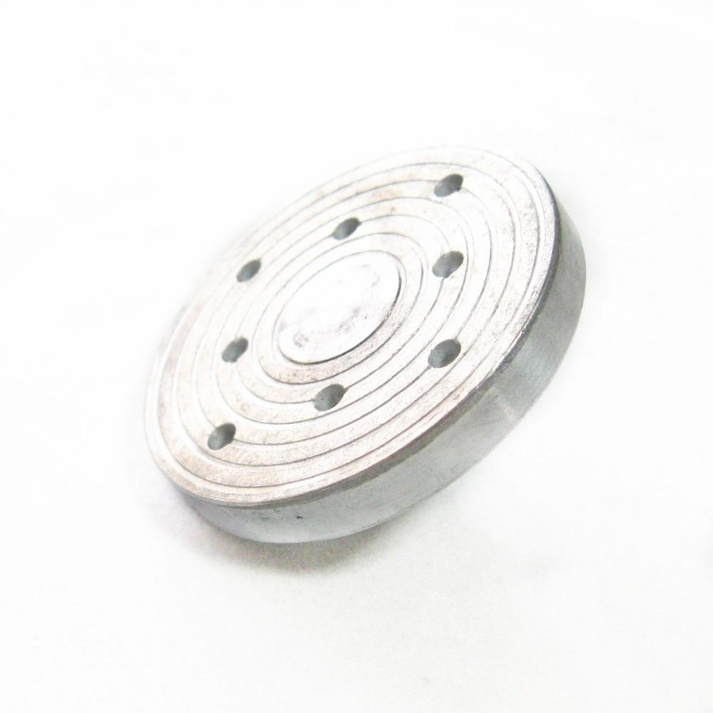 Placa de fixação de metal z018m 50mm painel de papel de lixamento dedicado zhouyu metal mini multiuso máquina de lixar acessório da máquina