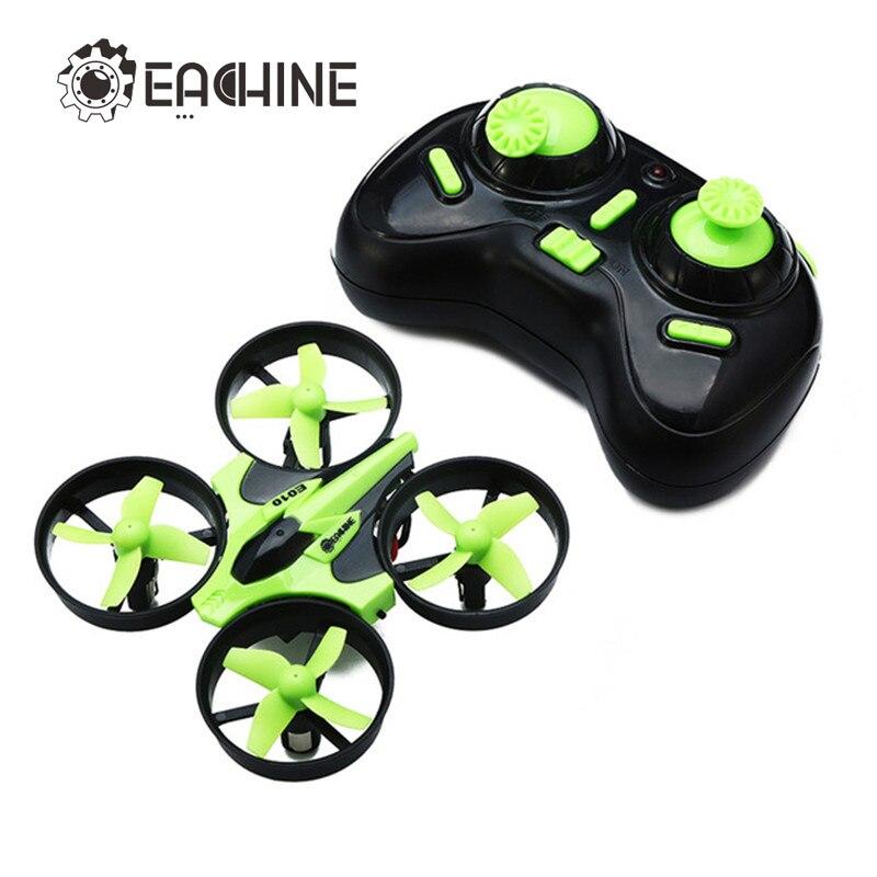 Nova Chegada Eachine E010 Mini 2.4g Função De Memória do Modo Headless Axis 3D 4CH 6 RC Quadcopter RTF RC Minúsculo presente Presente Brinquedos Do Miúdo