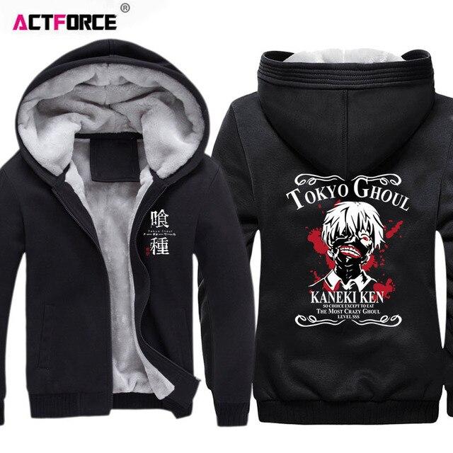Tokyo Ghoul Ken Kaneki Fleece Hoodie Sweatshirt