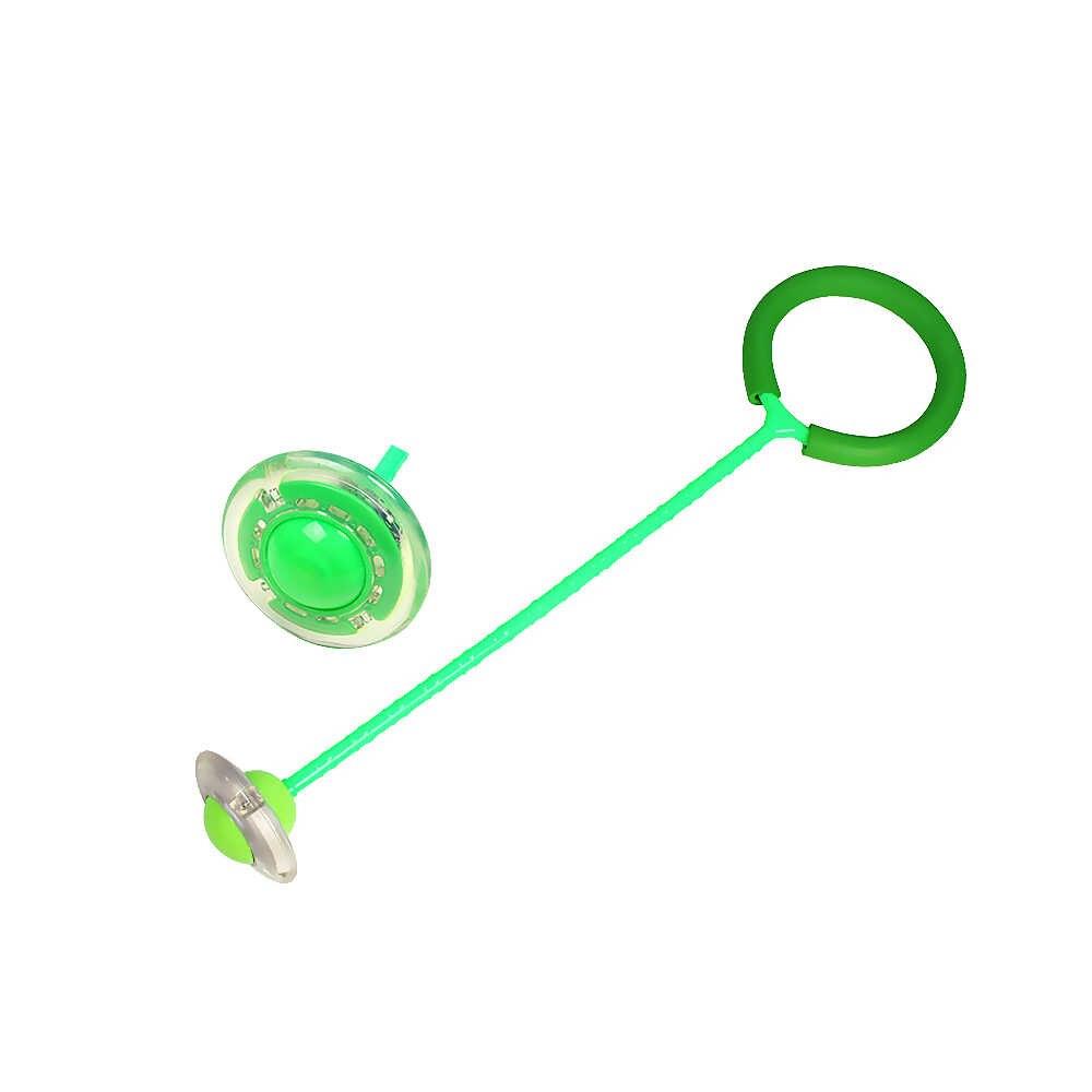 2019 Engraçado Quicando Bolas Um Pé Bola Piscando Pular Cordas de Pular Esportes Balanço Bola de Fitness Crianças Jogando Brinquedos de Entretenimento