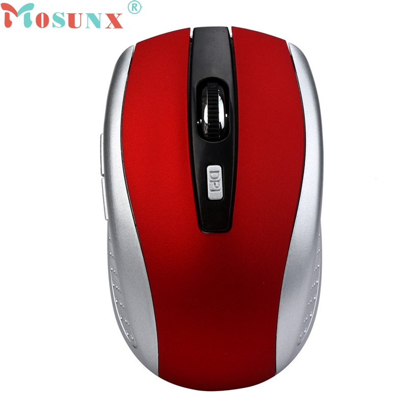 mosunx Mecall fashion 2.4GHz Wireless Gaming Mouse USB Receiver Pro Gamer For PC Laptop Desktop For Pro Gamer Whoelsale No08