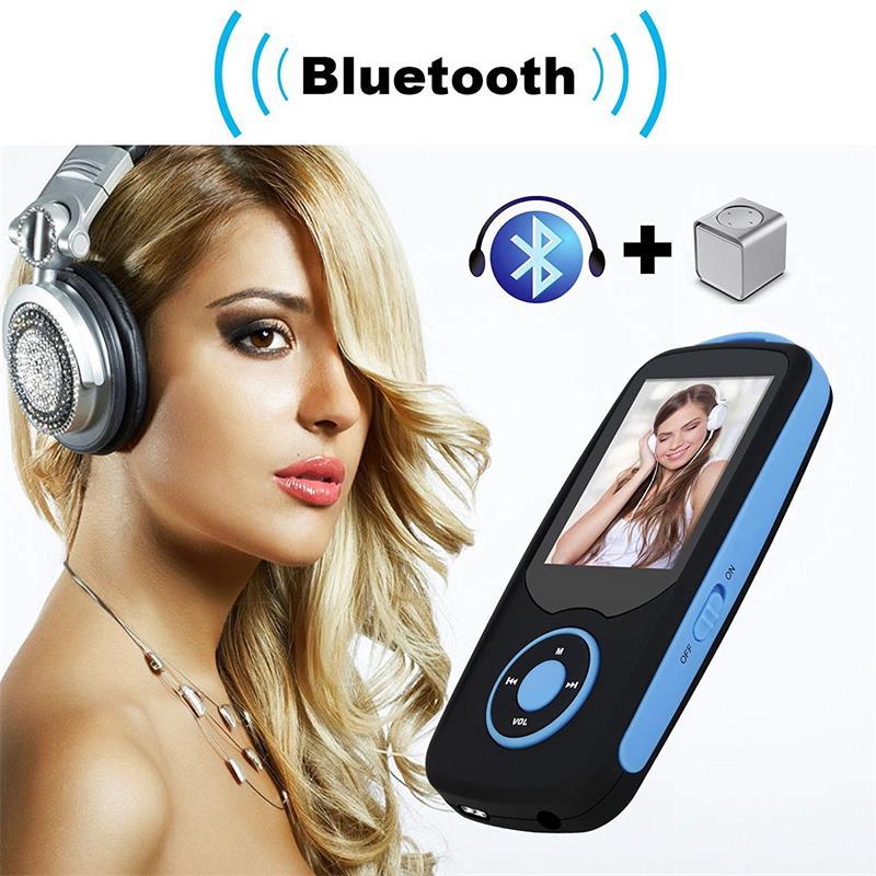 Bluetooth4.0 1.8 düymlük Rəng Menyu Ekranı olan MP3 Pleyer, FM - Portativ audio və video - Fotoqrafiya 4