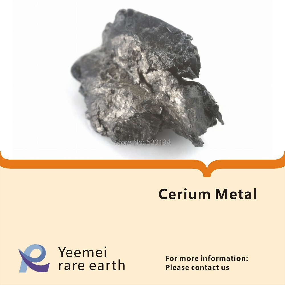 Rare earth metal-- 99.9% Cerium metal rare earth metal 99 9% dysprosium metal