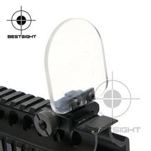 Protecteur de lentilles de fusils Airsoft de chasse, protection de lentilles de vue à points rouges et verts pour 551 552 553 556 557 558