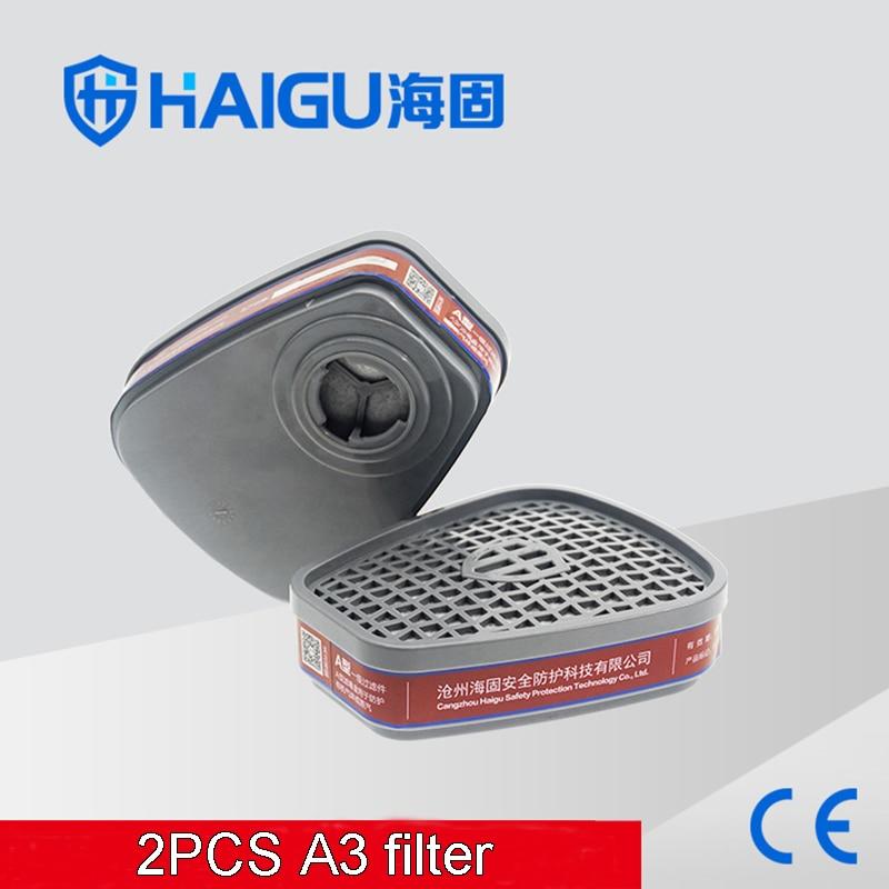 A-3 gas mask filter Efficient formula Activated carbon Antivirus filter comprehensive Spray paint pesticide Toxic gas filter