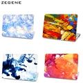 Venda quente colorido caso laptop para apple macbook air 13 caso do ar 11 Pro 13 Retina 12 13 15 Bolsa Para Laptop perfeito Padrão de Impressão
