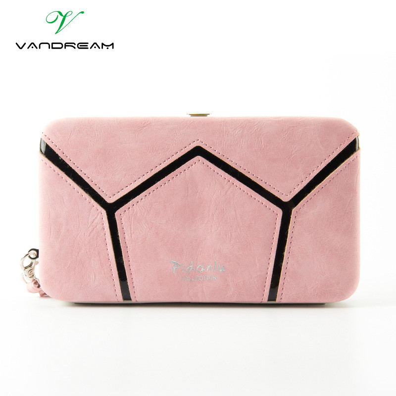 Women Wallet Female 2016 Coin Purses Phone Holders Brand Pu Leather Ladies Wristlet Bag Girls Long Clutch Wallets Pencil Box silver stone pattern long clutch wallets women pu leather coin purse brand female card holders wallet elegant ladies evening bag