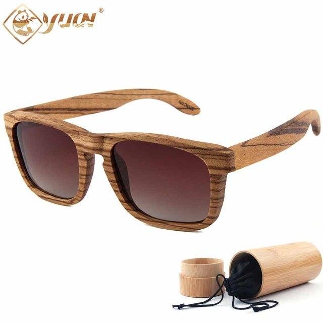 Fashion 2019 Men S Sunglasses Wood Frame Polarized Unisex Shades
