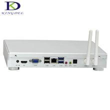 Kingdel Новое поступление мини-ПК Core i5 4260U Dual Core, HD Graphics 5000, металлический корпус с небольшой вентилятор, HDMI, VGA, USB 3.0, HTPC