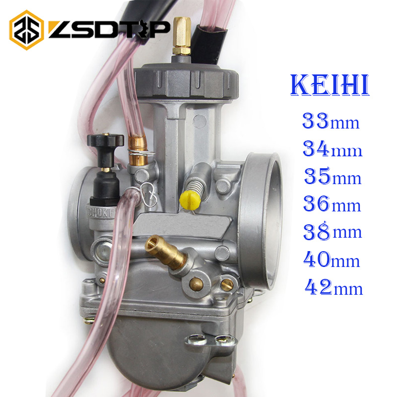 ZSDTRP Universal Big Racing Motorcycle PWK Keihin Carburetor Modify 33 34 35 36 38 40 42mm