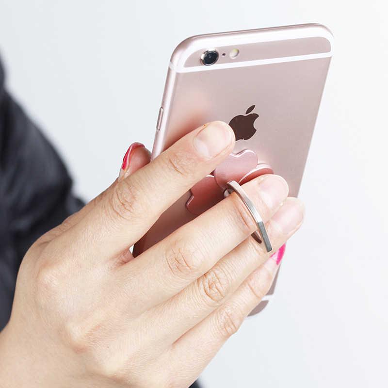 البنصر الهاتف المحمول حامل هاتف ذكي حامل ل فون XS هواوي سامسونج الخليوي الذكية جولة الهاتف حلقة حامل سنادات بالسيارة حامل